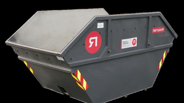 10m3 åpen container